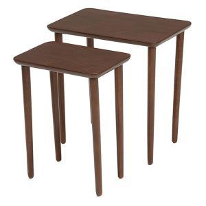 テーブル 大小2台セット ネストテーブル サイドテーブル コンパクト 収納 ( センターテーブル リビングテーブル ローテーブル )|interior-palette|04