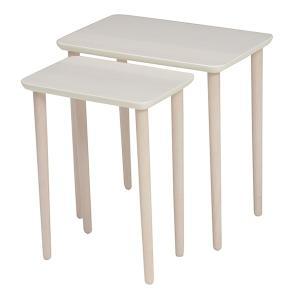 テーブル 大小2台セット ネストテーブル サイドテーブル コンパクト 収納 ( センターテーブル リビングテーブル ローテーブル )|interior-palette|09