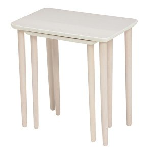 テーブル 大小2台セット ネストテーブル サイドテーブル コンパクト 収納 ( センターテーブル リビングテーブル ローテーブル )|interior-palette|10