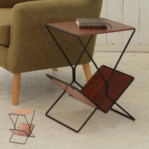 【週末限定クーポン】サイドテーブル AILE 幅40cm 木製 マガジンラック ( コーヒーテーブル ナイトテーブル ソファーサイド )|interior-palette