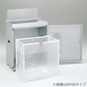 業務用 ゴミ箱 分別 資源回収ボックス W900タイプ シルバーM ( ダストボックス ごみ箱 分別ゴミ箱 分別ごみ箱 )|interior-palette|04