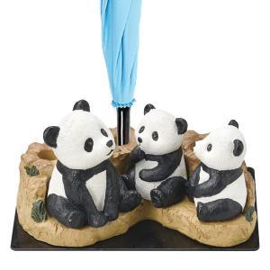 【週末限定クーポン】傘立て パンダ親子 3本収納 置物 動物 傘たて アンブレラスタンド ( 傘 かさ立て 玄関 収納 )|interior-palette