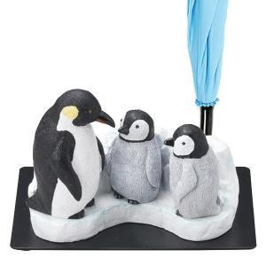 【週末限定クーポン】傘立て ペンギン親子 3本収納 置物 動物 傘たて アンブレラスタンド ( 傘 かさ立て 玄関 収納 )|interior-palette