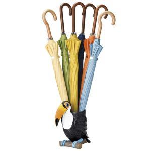 【週末限定クーポン】傘立て トゥーカン オオハシ 置物 動物 傘たて アンブレラスタンド ( 傘 かさ立て 玄関 収納 )|interior-palette