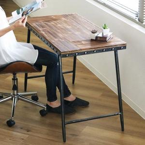 テーブル 幅100cm スペーステーブル Natal ワークデスク フリーテーブル ( ヴィンテージ調 アンティーク調 テーブルデスク )|interior-palette