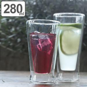 【週末限定クーポン】タンブラー 280ml 耐熱ガラス ダルトン DULTON ( 食洗機対応 ダブルウォールグラス 水滴がつかない ) interior-palette