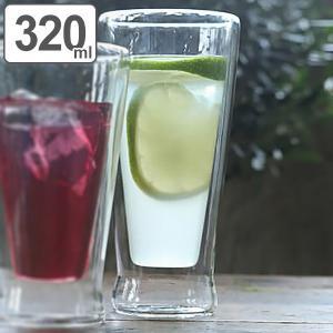 【週末限定クーポン】タンブラー 320ml 耐熱ガラス ダルトン DULTON ( 食洗機対応 ダブルウォールグラス 水滴がつかない ) interior-palette