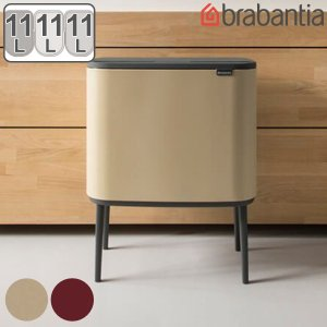 brabantia ブラバンシア ゴミ箱 Boタッチビン Luxury Collection 3×11L ( 分別 ごみ箱 フタ付き ダストボックス )|interior-palette