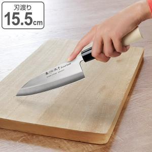 和包丁 出刃包丁 155mm ステンレス 白木柄 ( 左利き用 右利き用 包丁 )