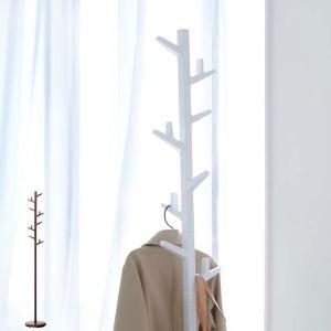 北欧テイストの枝モチーフがモダンなフォルムのポールハンガーです。掛ける物のサイズや位置に合わせて、ハ...
