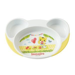 スプーンが沿う丸い角で高さがあるので、食べ物が手前に集まりやすく食べやすいランチ皿です。仕切りが付い...