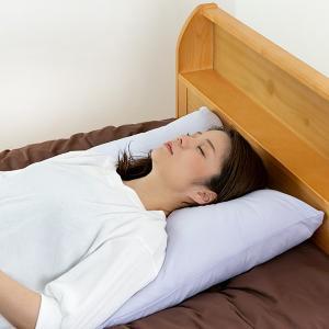 【週末限定クーポン】枕 二層構造 大きなふわふわ まくら 専用カバー付 60×63cm 日本製 ( 大きい 肩こり 首こり ) interior-palette