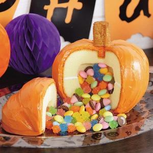 ケーキ型 かぼちゃ シリコン製 ハロウィン レッツハローウィン ( ピニャータケーキ くす玉ケーキ 手作り ギミックケーキ 型 ) interior-palette