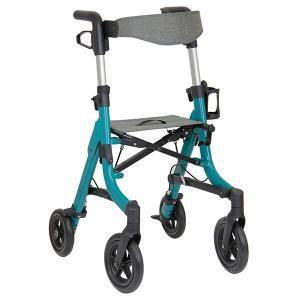 歩行車 コンパクト 折りたたみ テイコブマルシェ ( 歩行器 幅51cm タイヤ 押し手高さ調節 4段階 介護用 高齢者 ) interior-palette