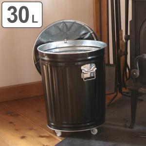 灰入れバケツ 30L 二重底 灰入れ ふた付き キャスター付き 暖炉 ゴミ箱 obaketsu オバケツ ( バケツ 灰 薪入れ 灰取り フタ付き )|interior-palette