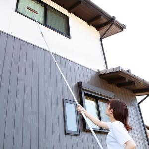 アルミ伸縮柄 つなぎ柄セットLL554 高所清掃シリーズ 柄 外壁 吹き抜け 高いところ 掃除 ( 清掃 高所 掃除道具 窓 天井 便利グッズ )|interior-palette