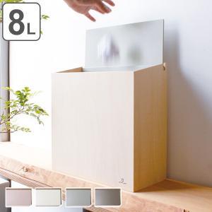 ゴミ箱 木製 スリム ふた付き SLIM DUST ヤマト工芸 yamato ごみ箱 ( キッチン くずかご くずいれ ダストボックス フタ付き ) interior-palette
