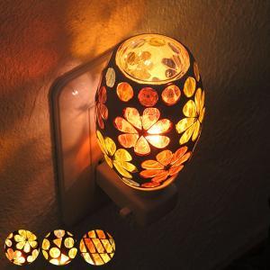 照明 アロマランプ モザイクアロマライト コンセント型 白熱球 プレゼント ( アロマディフューザー 間接照明 インテリアライト ライト ) interior-palette