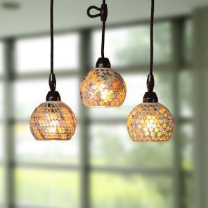 照明 ペンダントライト モザイク LED対応 モザイクペンダントライト ( ペンダント照明 間接照明 シーリングライト ) interior-palette