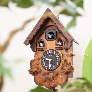 掛け時計 鳩時計 カッコー時計 カッコーパンキー ( 壁掛け時計 振り子時計 アナログ からくり時計 ) interior-palette