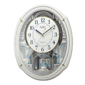 からくり時計 スモールワールドアルディN 電波時計 48曲収録 時計 ( 掛時計 壁掛け からくり ) interior-palette