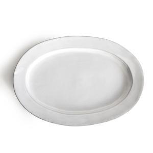 プレート 27cm オーバルプレート Saveur サヴール 皿 食器 洋食器 陶器 日本製 ( 食洗機対応 電子レンジ対応 大皿 リム オーバル パスタ カレー )|interior-palette