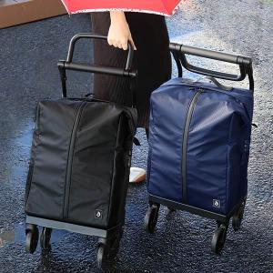 ショッピングカート 4輪 横押し 保冷カート 大容量 防水 aカートレインバッグ ( キャリーバッグ クーラーバッグ ) interior-palette