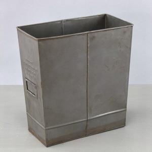ゴミ箱 ゲシュマック トラッシュボックス ( ブリキ おしゃれ アンティーク風 ) interior-palette