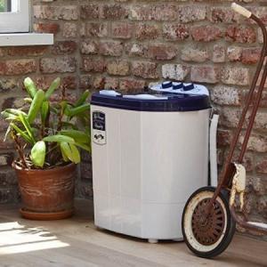 マイセカンドランドリー 二槽式洗濯機 3.6kg ( 洗濯機 小型 ミニ ランドリー 脱水機能 )|interior-palette