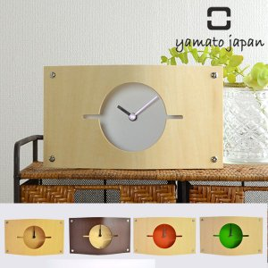 置き時計 木製 ヤマト工芸 壁掛け時計 WALL CLOCK S 壁掛け兼スタンドタイプ |新商品|04|interior-palette