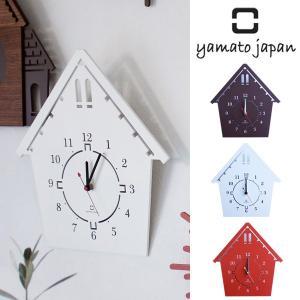 掛け時計 木製 ヤマト工芸 yamato DOUWA house S|interior-palette