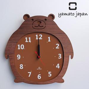 掛け時計 ヤマト工芸 yamato Clock Zoo クマ