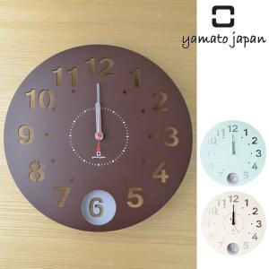 振り子時計 木製 ヤマト工芸 yamato Circle clock|interior-palette