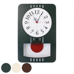 振り子時計 木製 ヤマト工芸 yamato レトロモダンクロック|interior-palette
