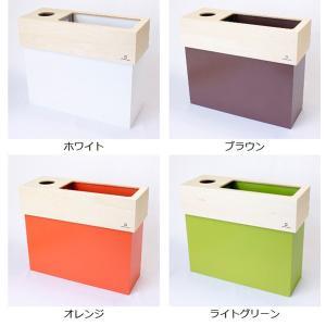 【48時間限定クーポン】ティッシュケース ゴミ箱 ヤマト工芸 yamato dust&tissue case CUBE|interior-palette|03