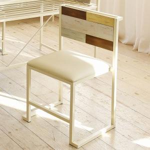 ダイニングチェア 椅子 CHROME 天然木 スチールフレーム 座面高44cm ( チェア チェアー ダイニングチェアー スタッキングチェア )|interior-palette