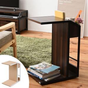 サイドテーブル アイアンフレーム ミッドセンチュリー Rita 幅31cm ( サイド サイドラック マガジンラック ラック ソファサイド ベッドサイド 収納 )|interior-palette