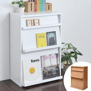 ディスプレイラック フラップ 2枚扉 幅60cm ボックスラックシリーズ ( ディスプレイラック 本棚 書棚 ディスプレイ収納 CDラック DVDラック )|interior-palette