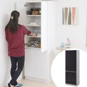 キャビネット ウォールラック 鏡面仕上げ Alnair 幅60cm ( リビング収納 壁面収納 キャビネット ) interior-palette