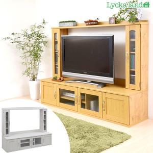 テレビ台 壁面収納タイプ 北欧風 Lycka Land(リュッカ ランド) 幅160cm ( TV台 AVラック ハイタイプ )|interior-palette
