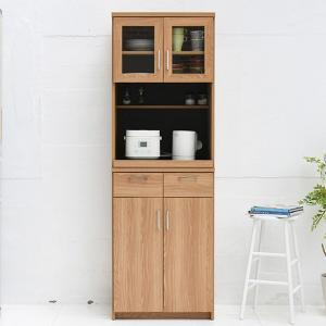 レンジボード 家電収納 食器棚 北欧風 Keittio 幅60cm ( レンジ台 レンジラック 60幅 キッチン 収納 食器 キッチン収納 キッチンラック 棚 )|interior-palette