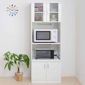 レンジボード 戸棚 キッチン収納 SIM 約幅60cm ( レンジ台 カップボード ) interior-palette
