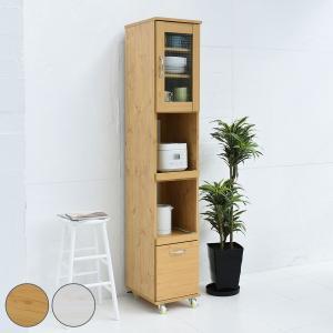 レンジ台 キッチン収納 ハイタイプ 北欧風 Lycka land 幅32.5cm ( 食器棚 キッチンボード カップボード 北欧 ) interior-palette