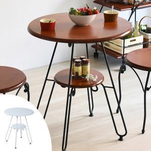 【週末限定クーポン】テーブル 丸型 カフェテーブル ロートアイアン 直径60cm ( センターテーブル リビングテーブル コーヒーテーブル )|interior-palette