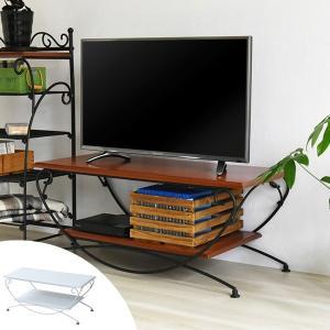 テレビ台 ローボード ロートアイアン 幅90cm ( AVラック TVボード テレビボード TV台 ) interior-palette