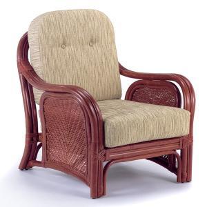 籐 アームチェア ラタン製 幅75cm ( アジアン家具 籐家具 ソファー )|interior-palette