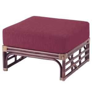籐 オットマン ラタン製 幅65cm ( アジアン家具 ラタン家具 ソファ )|interior-palette