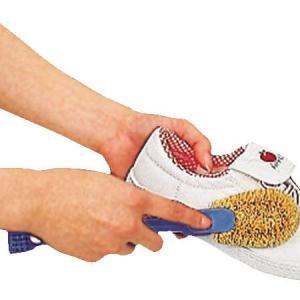 シューズクリーナー 靴ブラシ 子供用シューズクリーナー へら・ミニブラシ付 ( スニーカーブラシ )