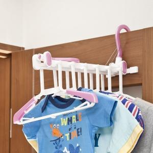 ハンガー 洗濯 室内&外干し用 シャツハンガー 6連 ( 連ハンガー 物干し 洗濯物干し )|interior-palette