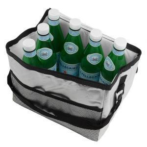 クーラーボックス ソフトクーラーバッグ アルミ 10L 小型 ショルダーベルト付き ( 保冷バッグ 冷蔵ボックス 折りたたみ )|interior-palette|02